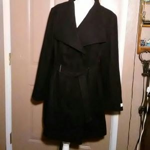 NWOT CALVIN KLEIN DOUBLE BREASTED COAT- SIZE MED
